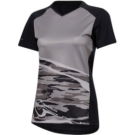PEARL iZUMi Launch Short Sleeve Jersey Women black/black vista